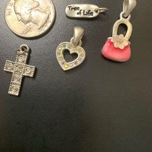 Jewelry - 4 Charms